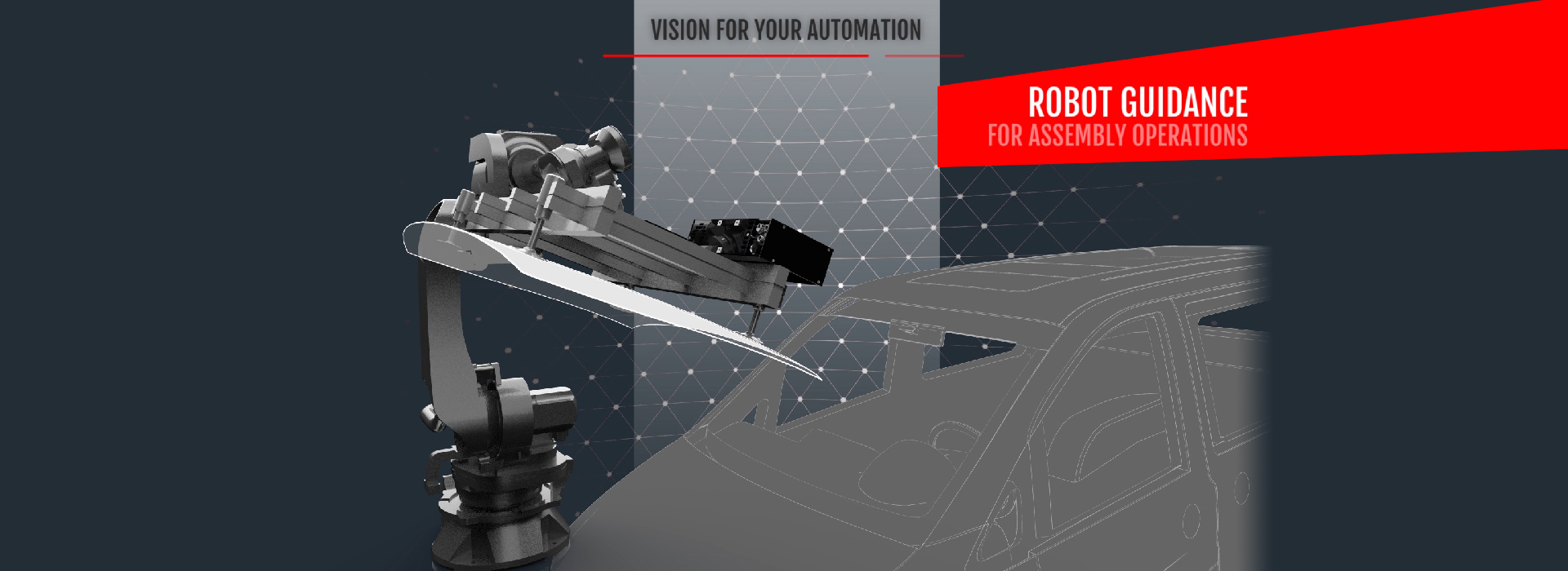 VISIO NERF - 3D Guidance : Robotic Guidance solution